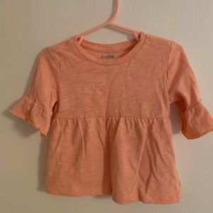Gymboree flutter sleeve T-shirt 12-18m